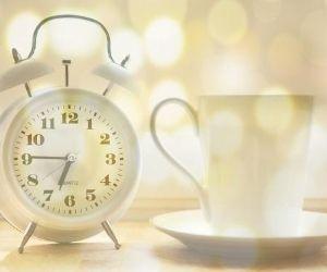 Wecker mit Zeit